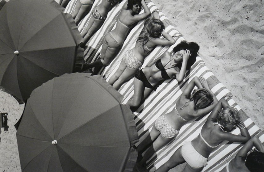 Magnum photos don't influence Erwitt too much - he has his own way with pictures