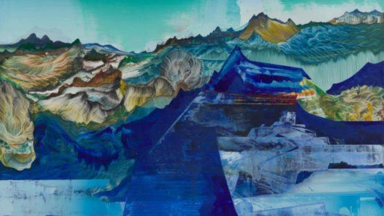 Elliott Green - Blue Tonnage, 2018 (detail)