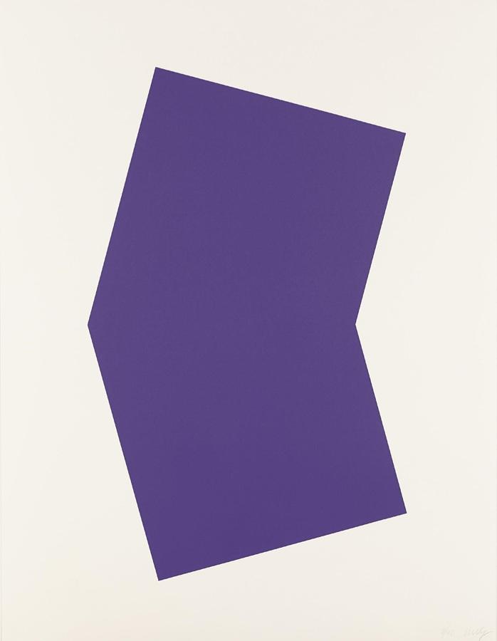 Ellsworth Kelly-Purple-2001
