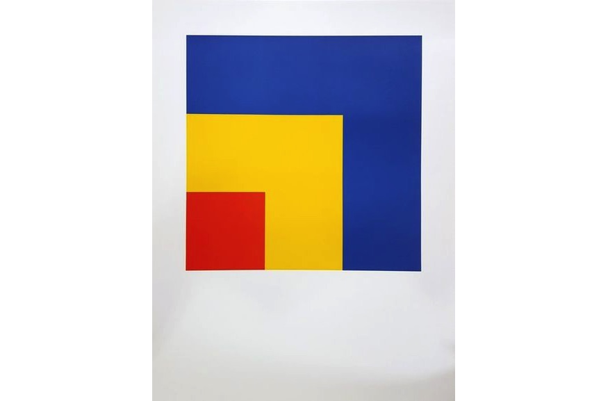 Ellsworth Kelly - Red, Yellow, Blue