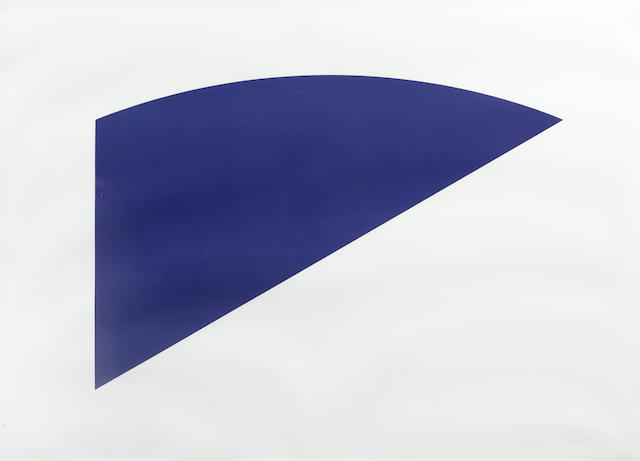 Ellsworth Kelly-Untitled from Eight by Eight to Celebrate the Temporary Contemporary-1983