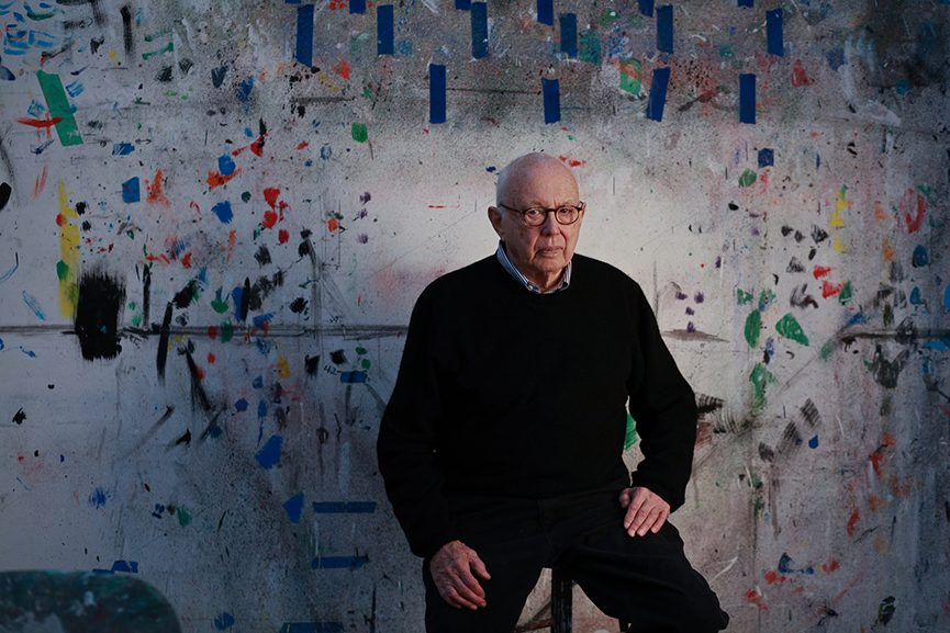 Ellsworth Kelly dead