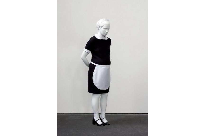 Elmgreen & Dragset - Pregnant White Maid