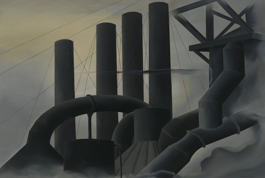 sheeler museum holds sheeler cubism work from 20th century