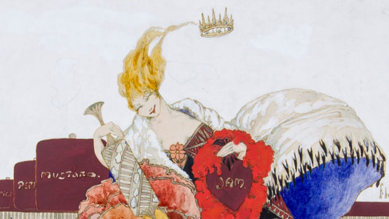 Elyse Ashe Lord - The Queen of Hearts (detail), 1931