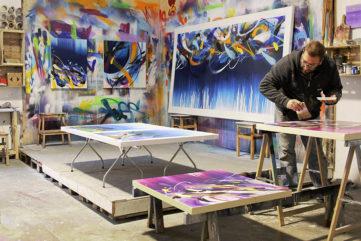 Emanuele Vittorioso Abstract Graffiti