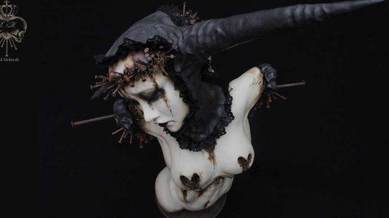 Emil Melmoth - sculptures