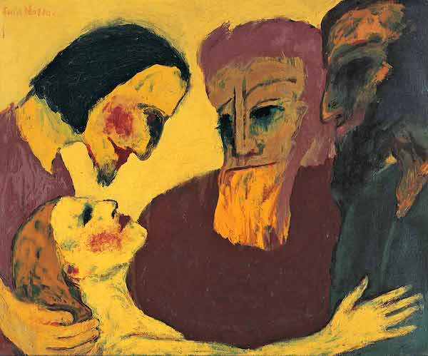 Emil Nolde - The Sinner, 1926
