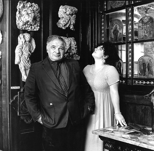 Emily Andersen - Anna and Eduardo Paolozzi, London, 1995