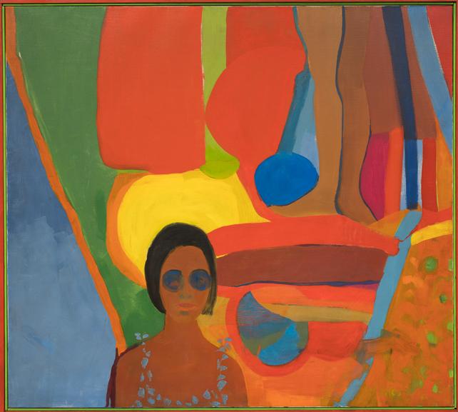 Emma Amos - Baby, 1966