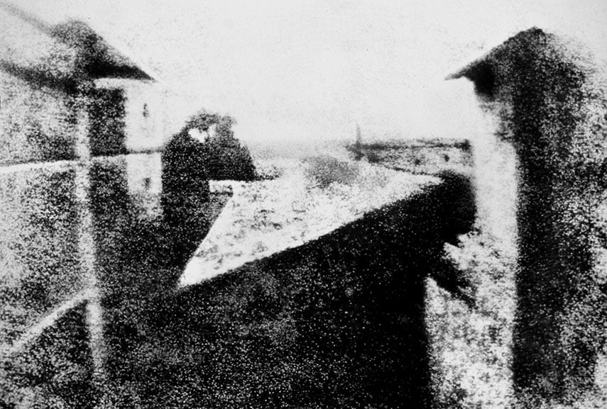 the earliest photo ever made introduced a new era in arts