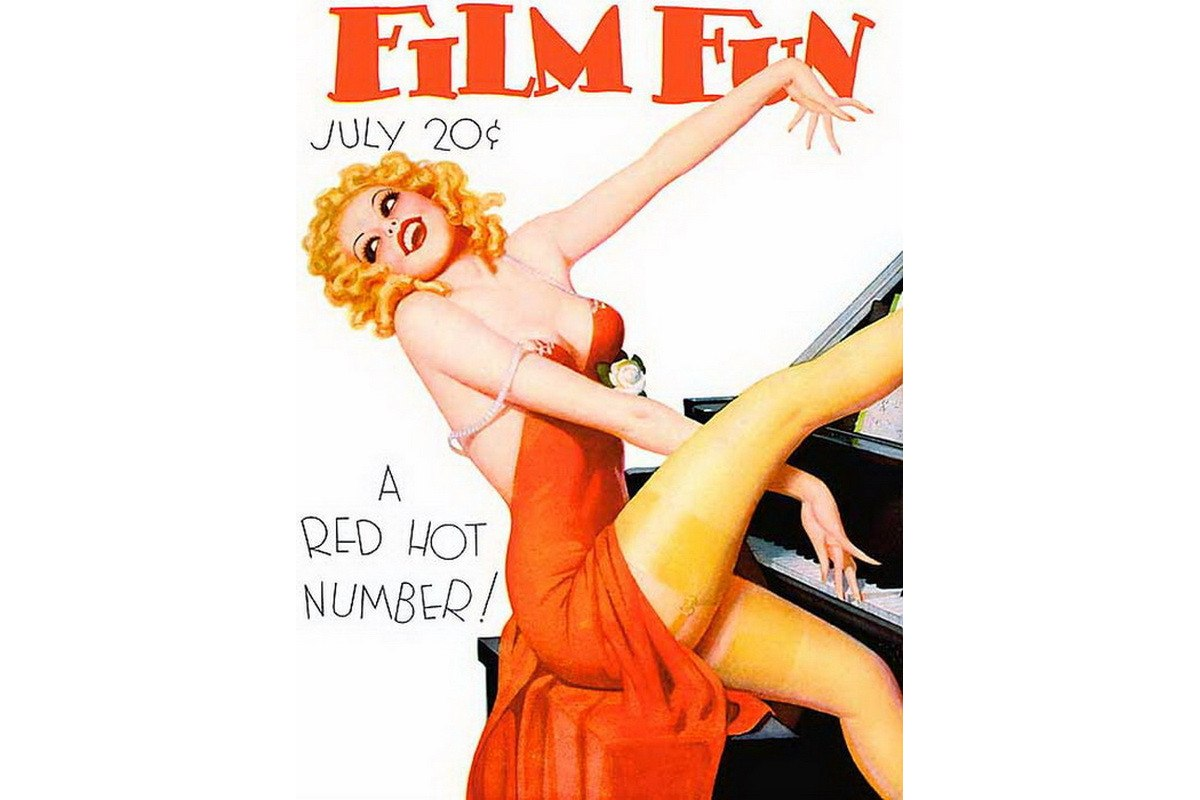 In the pinup art world, Enoch Bolles is best known for his Zippo pin up girl