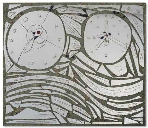 Enrico Baj-Specchio-1970