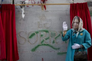 Banksy Hosts an Apology Party for the Palestinians at The Walled Off Hotel