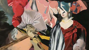 Eric Basstein - Silent Circus (detail)