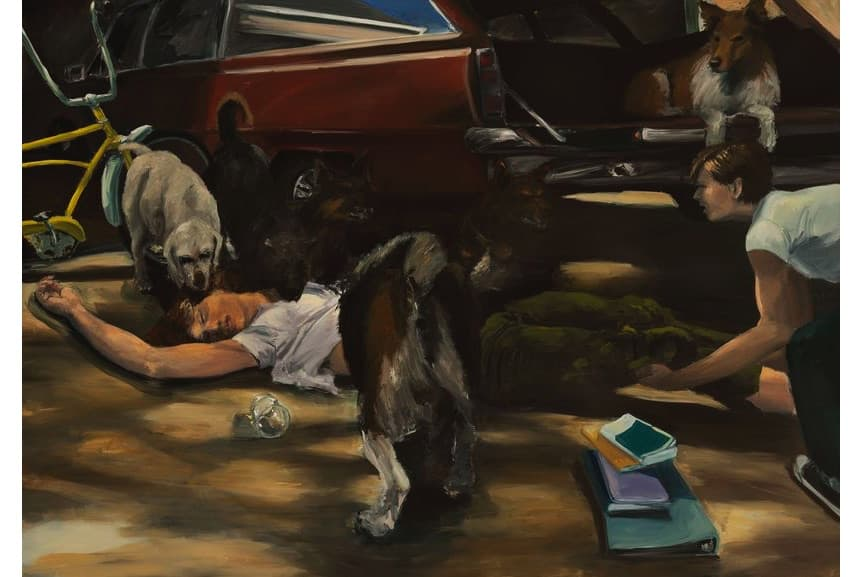 Eric Fischl - A Woman Possessed, 1981