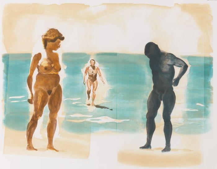 Eric Fischl-Beach Scenes I-IV-1989