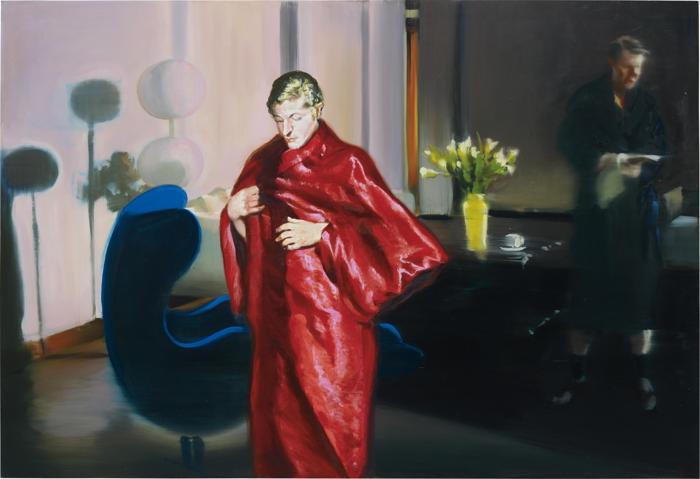 Eric Fischl-Krefeld Project; Living Room, Scene #4-2002