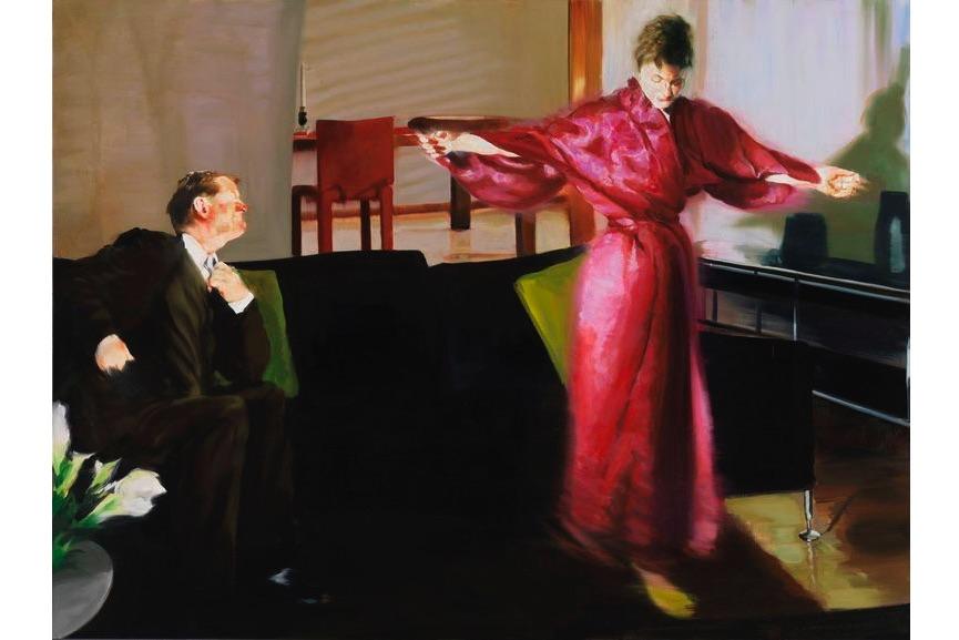 Eric Fischl, Living Room Scene III, 2002