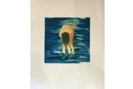 Eric Fischl - Untitled (Boy in blue water), 1988
