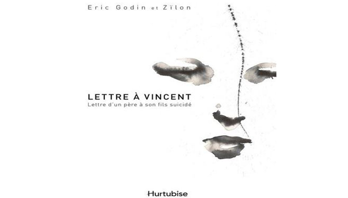 Eric Godin - Letter to Vincent, 2012, book cover