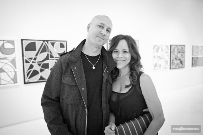 Eric Haze and Rosie Peres, 2011, New Mathematics Exhibition, Known Gallery, photo credits - The Hundreds