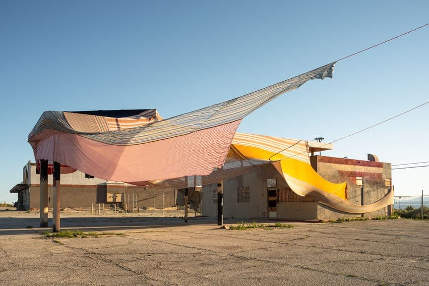 Eric Mack - Halter, 2019 at Desert X