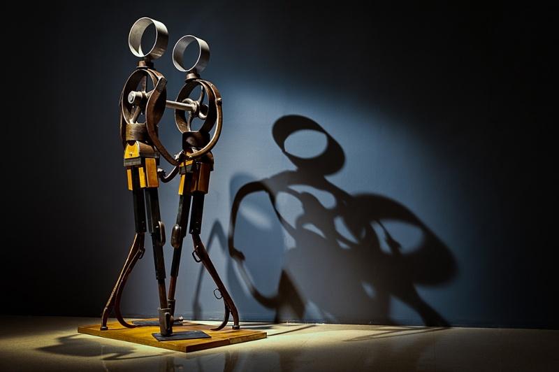Eric Nado - Travail en duo majeur, 2012, sculpture