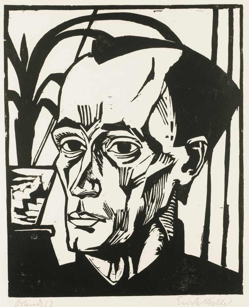 Erich Heckel-Bildnis E.H.-1917