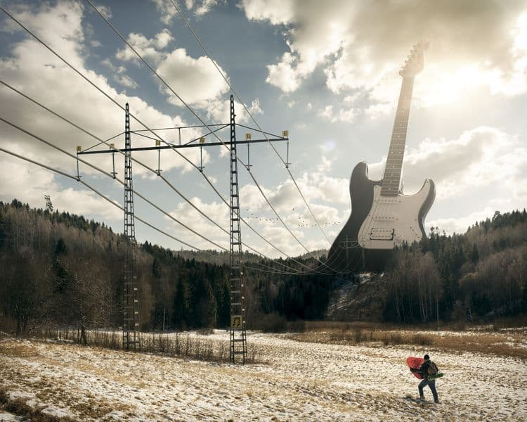 Erik Johansson - Electric Guitar, 2012