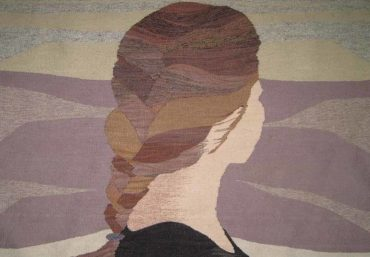 Erin M. Riley Weaves Contemporary Risqué Tapestry Art