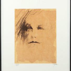Ernest Pignon-Ernest-Arthur Rimbaud (Regards)-1986