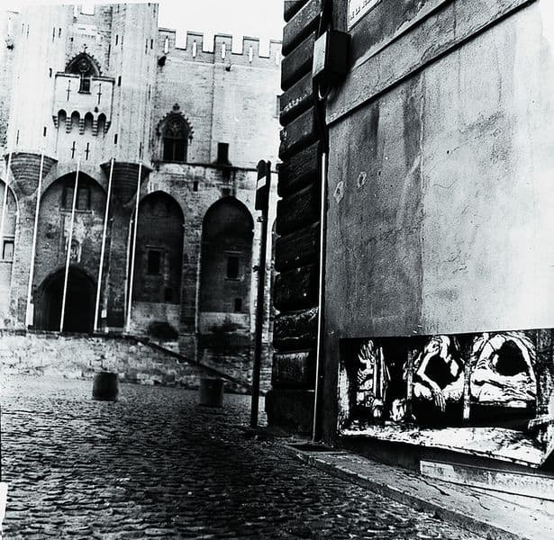 Ernest Pignon-Ernest - Avignon, 1975