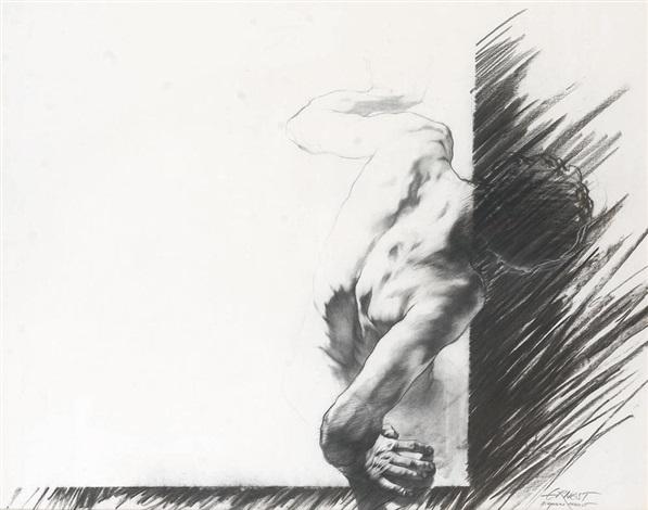 Ernest Pignon-Ernest-Homme Penche-