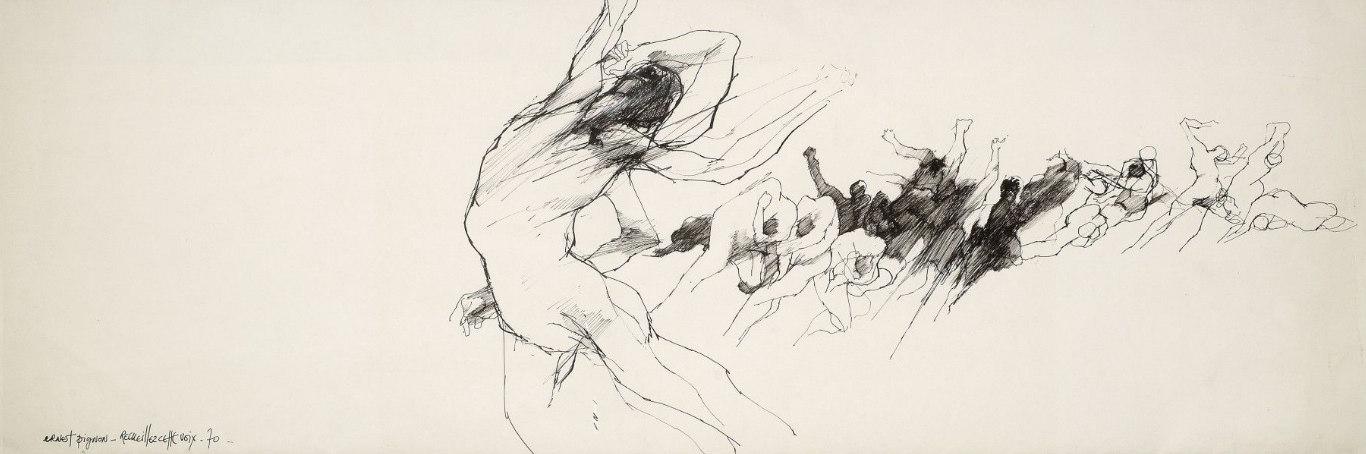 Ernest Pignon-Ernest-Recueillez Cette Voix-1970
