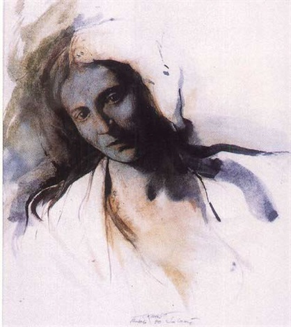 Ernest Pignon-Ernest-Salome-1990