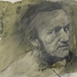 Ernest Pignon-Ernest-Sans titre (Wagner)-1988