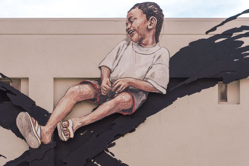 Ernest Zacharevic Mural