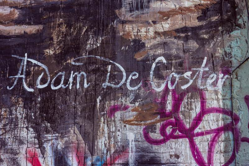 Ernest Zacharevic - Adam De Coster detail - Photo Credit Ernest Zacharevic