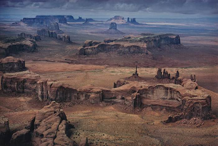 Ernst Haas-Monument Valley, Utah, U.S.A., from In America series-1962