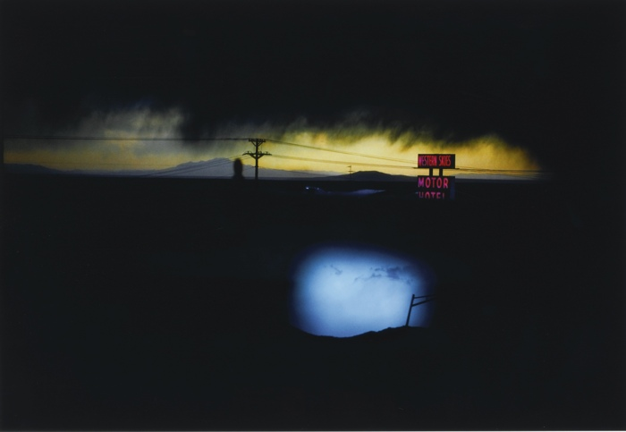 Ernst Haas-Western Skies Motel Colorado Usa-1978