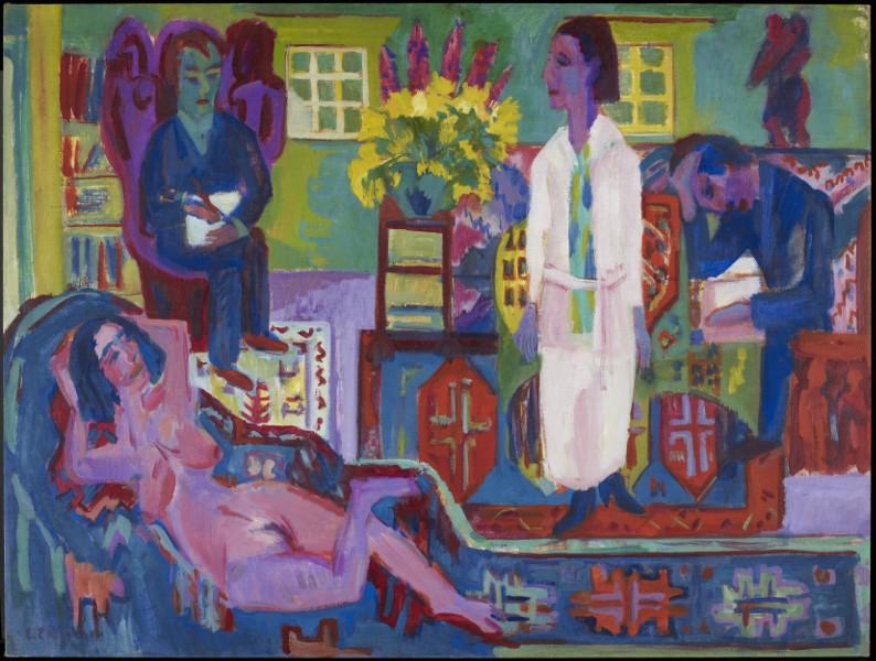Ernst Ludwig Kirchner - Modern Bohemia