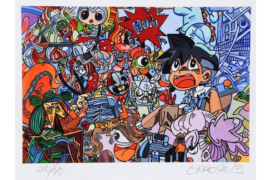 Erro - Le petit manga - Picasso
