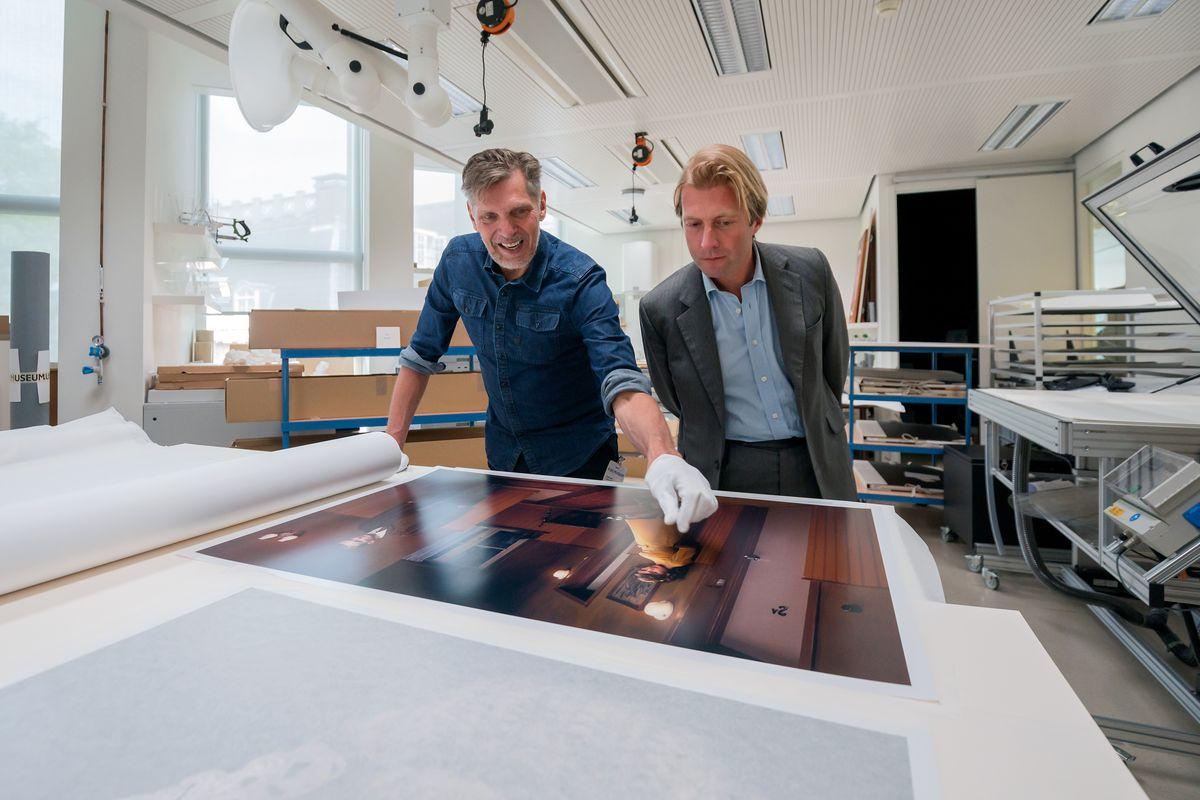 Nederland, Amsterdam, 23-05-2018. Erwin Olaf, een deel van zijn werk wordt toegevoegd aan de collectie van het Rijskmuseum. Foto: Olivier Middendorp