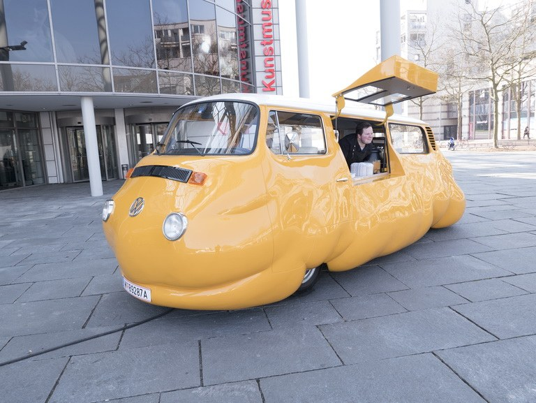 Erwin Wurm's Curry Bus