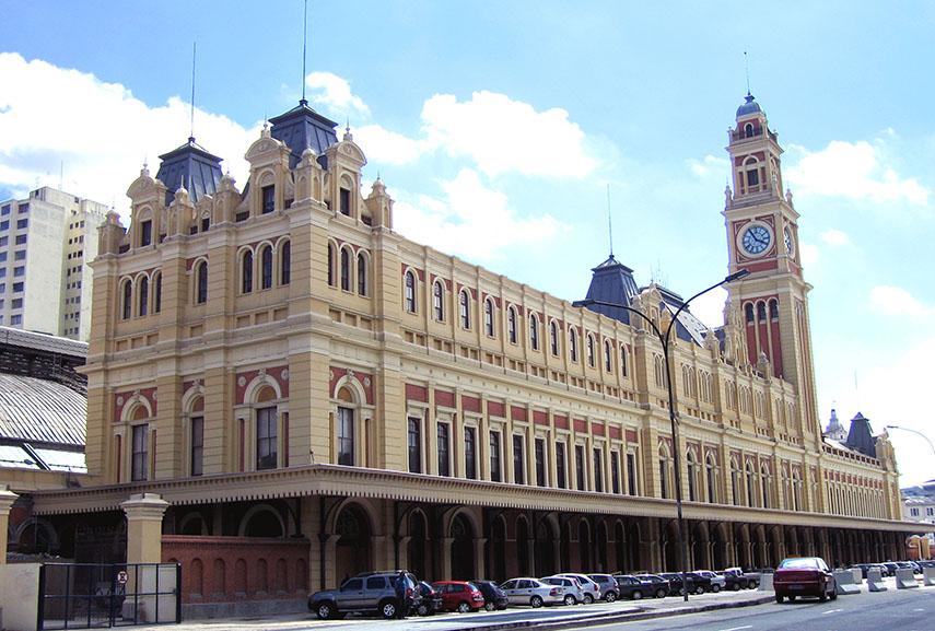 museum of the portuguese language paulo luz brazil museu portuguesa são cultural brazilian sao 2006 history train língua estação