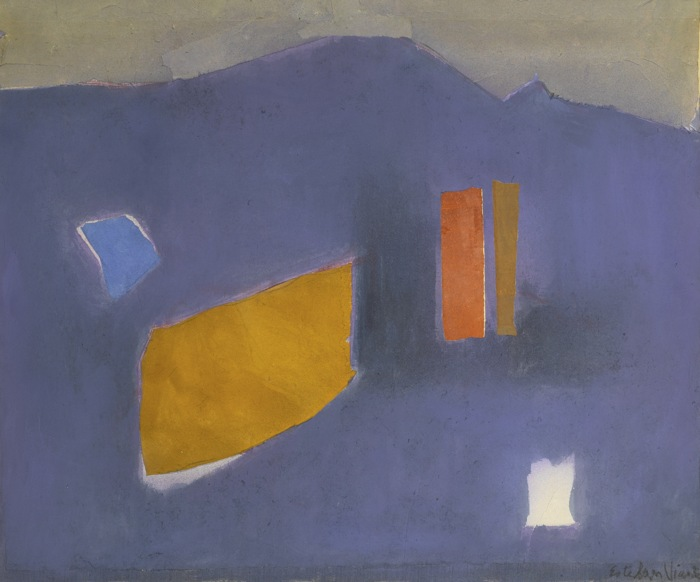 Esteban Vicente-Untitled-1982