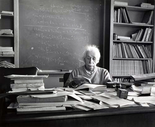 Esther Bubley - Albert Einstein at Princeton, New Jersey, 1953, photography, black and white