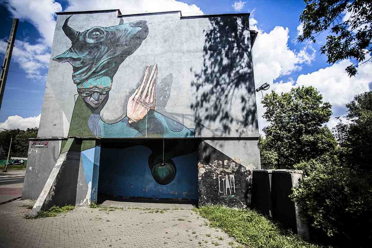 Poland murals