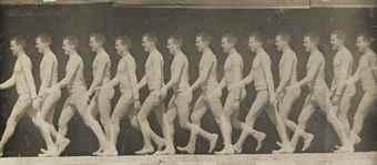 Etienne-Jules Marey-Man Walking-1882
